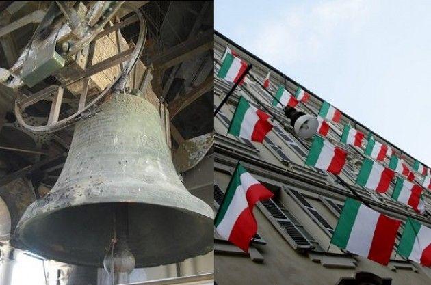 70° Liberazione: campane a festa, sventolii di tricolori, pianti di gioia   G.Carnevevali