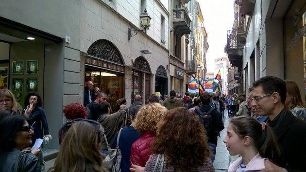 (video) 25 aprile a Cremona. Immagini dal corteo per il 70° della Liberazione
