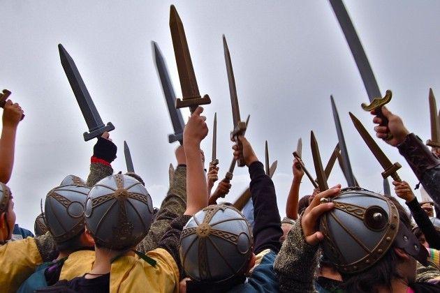 La spada nella rocca una giornata fantastica a lonato del - Cavalieri della tavola rotonda ...