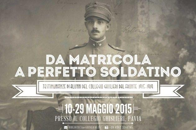 A Pavia 'Da matricola a perfetto soldatino', gli studenti e la Grande Guerra