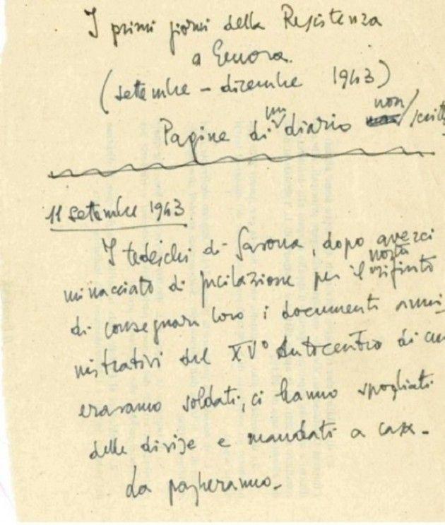 Mauthausen: Il 'Diario non scritto' di Franco Antolini
