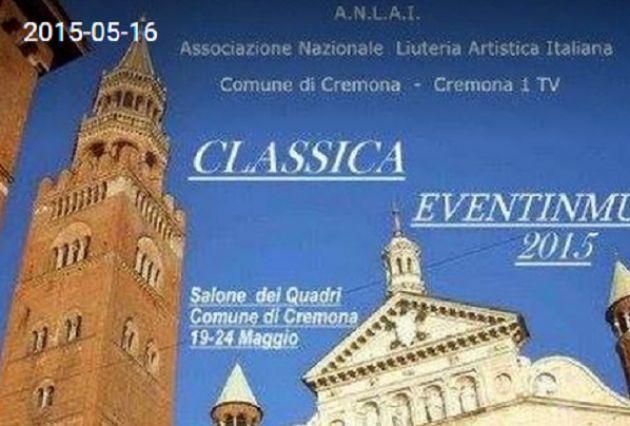 'Classica Cremona Eventi musica ANLAI': 18 concerti in programma