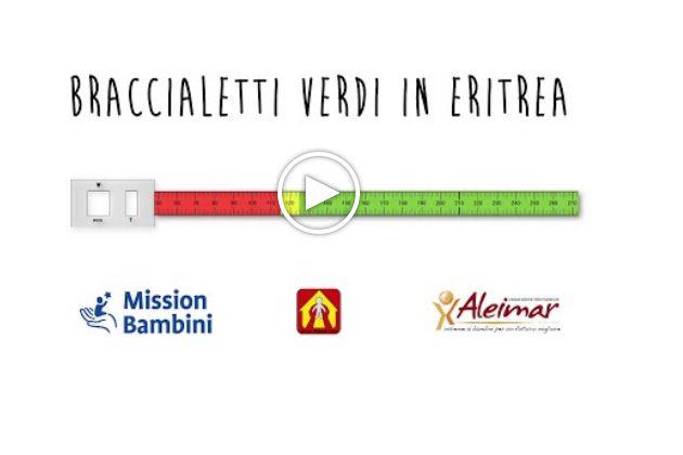 Progetto contro la malnutrizione, tanti 'Braccialetti verdi' per i bimbi eritrei