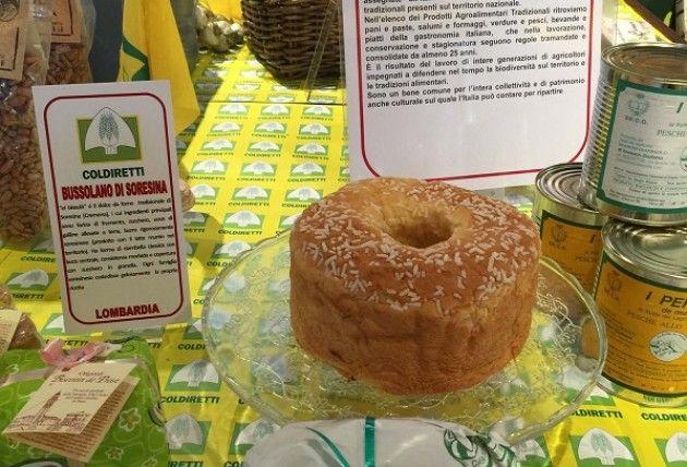 Expo Con Coldiretti Il Bussolano di Soresina tra le  'bandiere del gusto'