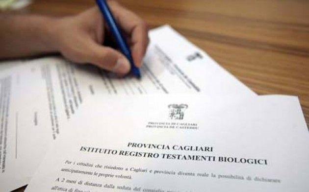 Regolamento Testamento biologico Plauso al Comune di Cremona di V.Montuori