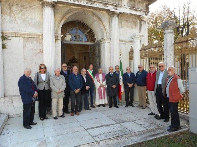 Ricordati i giovani resistenti Alfredo e Antonio di Dio al Civico Cimitero di Cremona