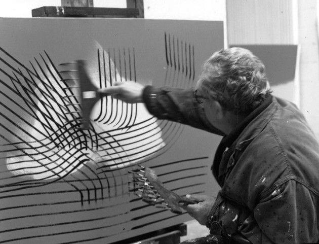 Expo: Artisti italiani in memoria del padre di Hans Hartung