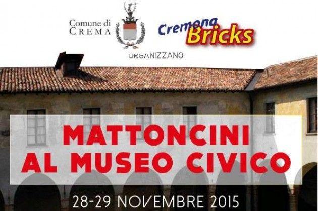 I mattoncini Lego in provincia di Cremona, 'invasione' al Museo Civico di Crema