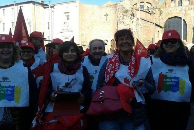 Cremona alla manifestazione dei pubblici in piazza a roma for Aggiunte alla legge