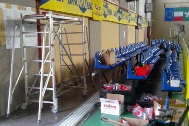Edilizia scolastica carpentieri u cimpegno per impianti di