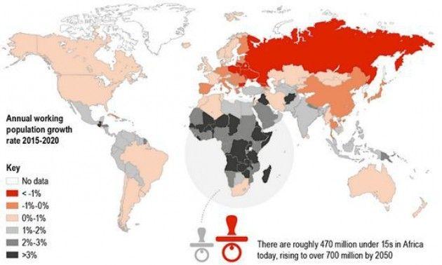 Popolazione mondiale: e se diminuisce la forza-lavoro?