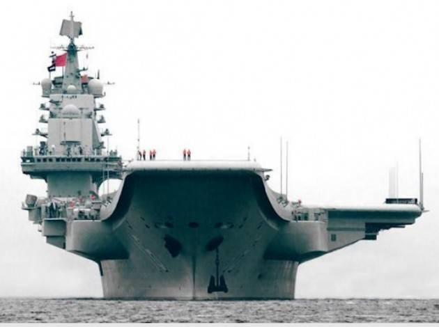 Cina Pechino conferma che stanno costruendo la seconda portaerei.