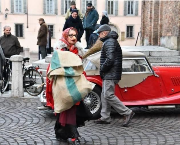 La Befana a Piacenza  è arrivata  come sempre in moto grazie ai Baca