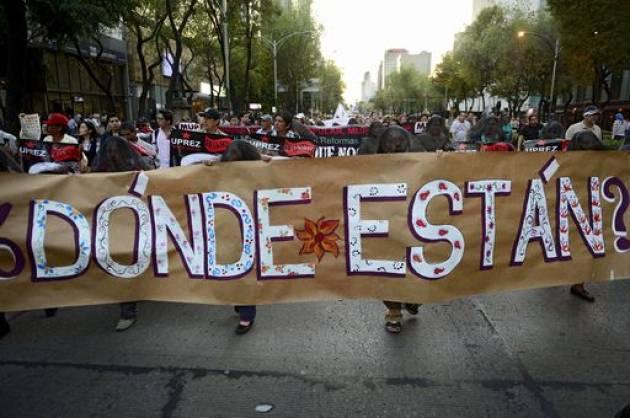 Messico - Scomparsi: fenomeno endemico, grazie a grave incompetenza e inerzia delle autorita'