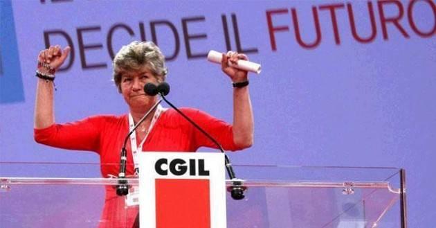 Cgil Il testo della Carta del Nuovo Statuto delle lavoratrici e dei lavoratori Intervista a Susanna Camusso
