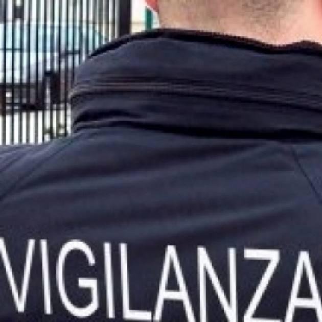 Un istituto di vigilanza privata per il controllo notturno della citta' di Bergamo