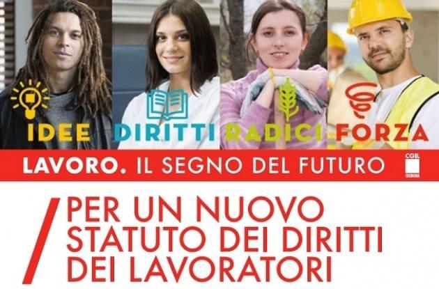 La Cgil di Cremona presenta la nuova proposta di Statuto Attivo