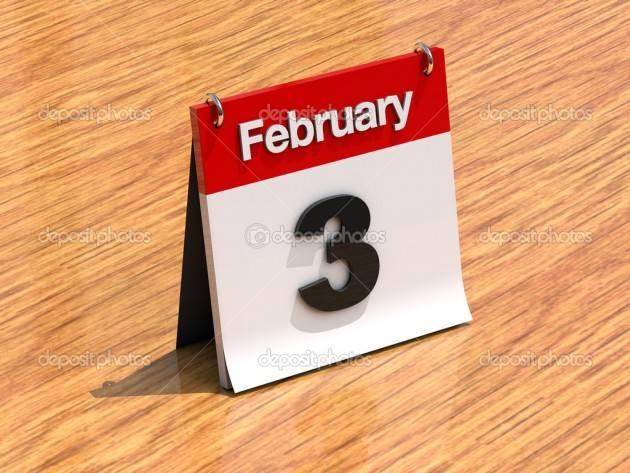 Ciò che è seccesso il 3 febbraio dal 1451 al 2015