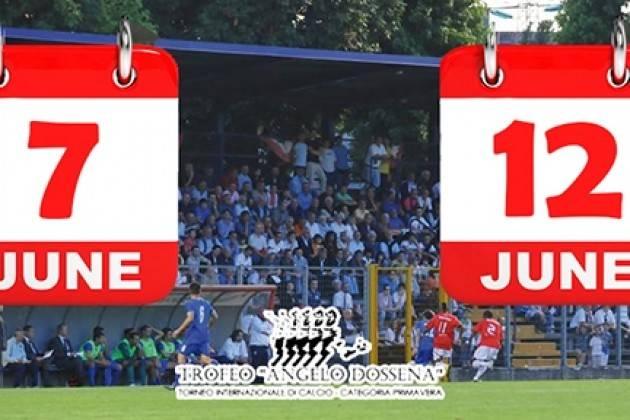 Calcio primavera, Trofeo Angelo Dossena a Crema: si gioca dal 7 al 12 giugno