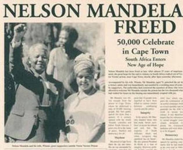 Accadde Oggi 11 febbraio 1990 – In Sudafrica viene liberato Nelson Mandela
