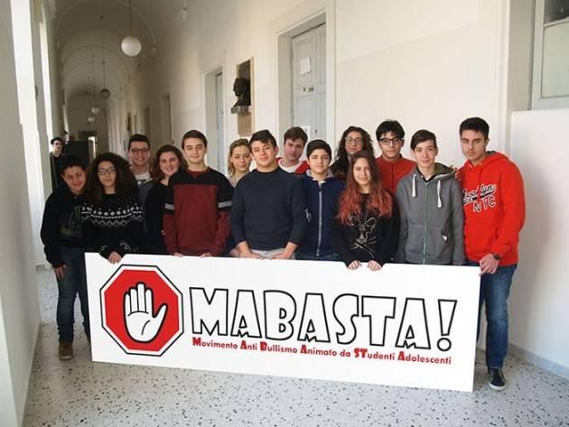 Italia -  Bullismo: gli adolescenti dicono MaBasta