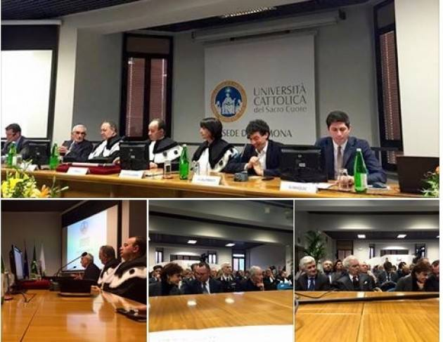 Cremona la cerimonia del Dies Academicus dell'Università Cattolica del Sacro Cuore