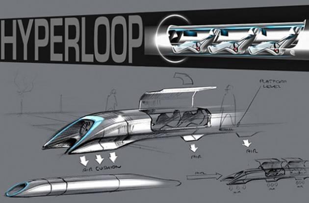 Slovacchia, primo treno iper-veloce: una scelta naturale per l'Hyperloop