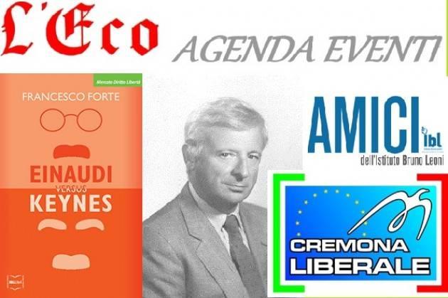 L'Eco Al Filo di Cremona presentazione del libro Einaudi versus Keynes