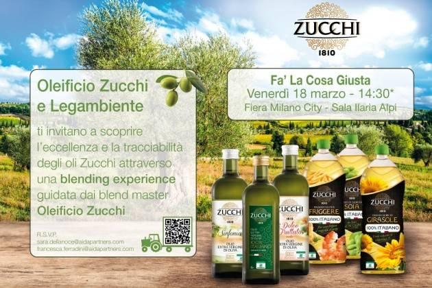 Fiera Milano City, Blending Experience di Oleificio Zucchi a Fa' La Cosa Giusta
