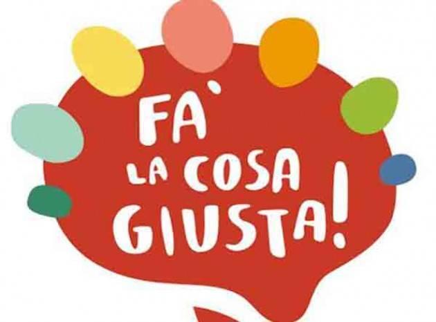 'Fa' la cosa giusta': 18-20 marzo a Milano appuntamenti food policy, mobilità, verde