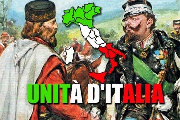 Lodi - 155° anniversario dell'Unificazione nazionale d'Italia