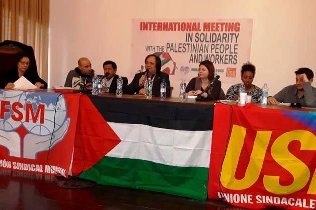 Con la Palestina nel cuore, il resoconto del meeting di Milano organizzato da USB