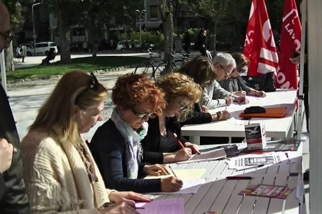 Cgil Nuovo Statuto Carta, è iniziata la raccolta di firme