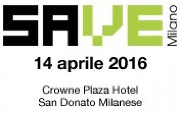 Industry 4.0 a SAVE Milano 2016