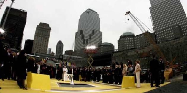 #AccaddeOggi 20 aprile 2008 - Papa Benedetto XVI visita Ground Zero a New York