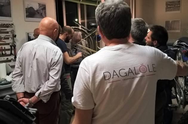 Crema Il workshop Dagalole, muove l'interesse verso la bici