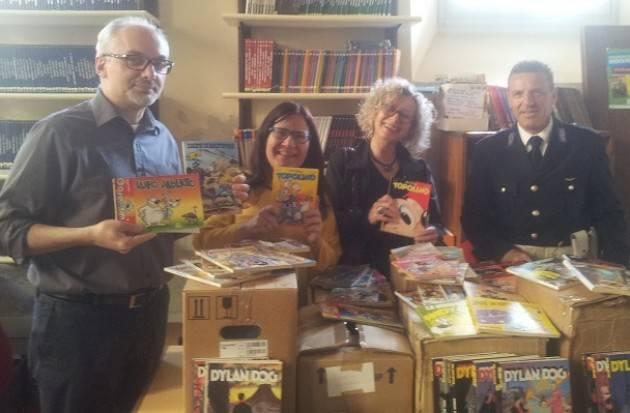 Cremona Il Centro  'Andrea Pazienza' dona fumetti al carcere