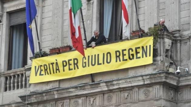 Milano - Verità per Giulio Regeni flash mob di Amnesty International (Video)