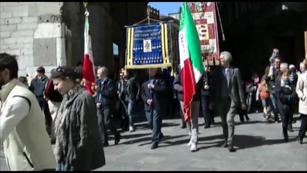 (Video) Cremona  Un 25° Aprile di Liberazione e Speranza Il corteo ed i comizi