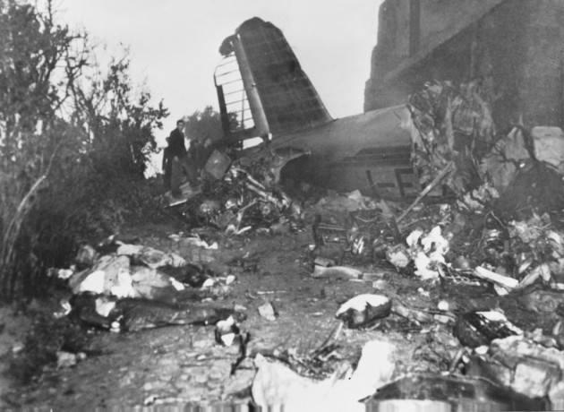 AccaddeOggi  #4maggio 1949 - Si schianta l'aereo che trasportava la squadra del Grande Torino.