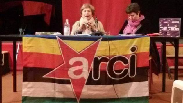 Arci Cremona e Circolo Arcipelago, bene la serata con Luciana Castellina