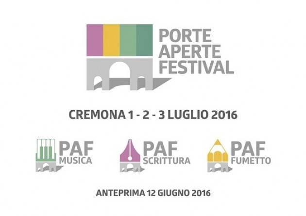 PAF a Cremona un nuovo Festival dedicato alla musica