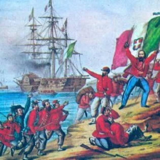 AccaddeOggi  #11maggio 1860 – Garibaldi sbarca con i Mille a Marsala