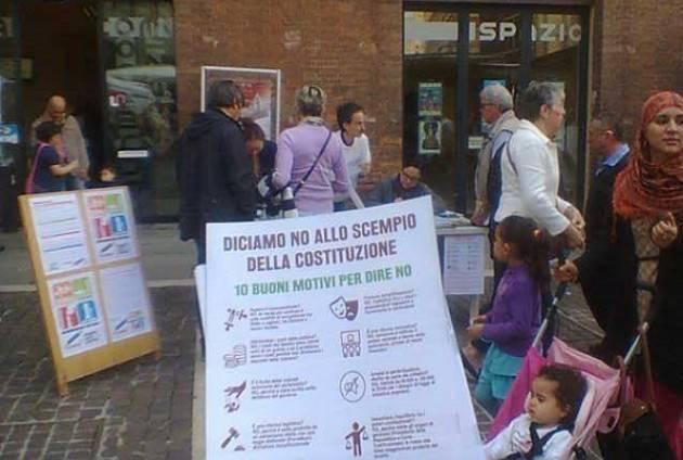 Anche a Cremona si firma per i Referendum Sociali su Costituzione, Democrazia, Diritti, Scuola e Ambiente