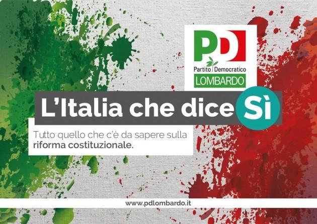Riforma Costituzionale Il Referendum Day del PD di Cremona del 21-22 maggio 2016