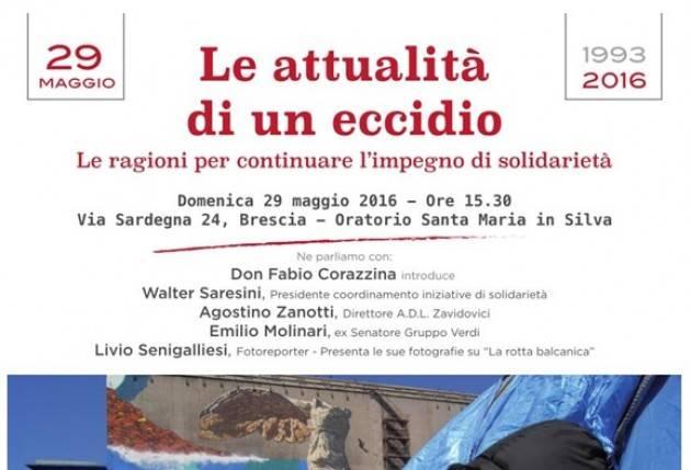 Per non dimenticare Guido Puletti, Sergio Lana e Fabio Moreni