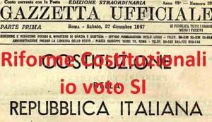 Perché votare a favore della riforma costituzionale L'Eco del Popolo aderisce al documento di Mondoperaio