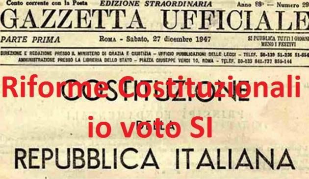 La telefonata Referendum Costituzione Rodolfo Bona  Le ragioni del mio SI