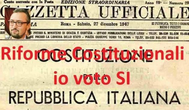 Referendum Costituzione Ecco perché voterò SI di Matteo Piloni