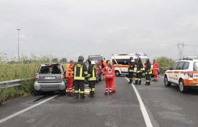 Lodi - Incidente mortale ieri sulla via Emilia